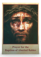 PB prayer card for aborted babies
