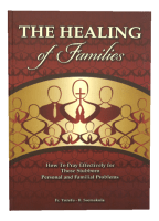 The Healing of Families
