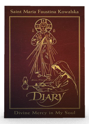 sr. faustina's diary, leather edition
