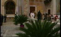 The sign that Pontius Pilate placed on Jesus' Cross is in Rome