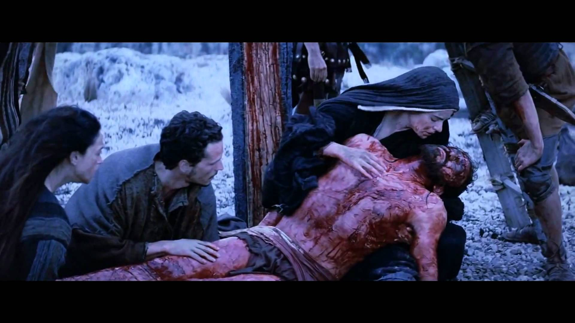 a hard but beautiful video to watch the passion of the christ