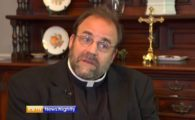 Monsignor Pope gives a rebuttal to Tim Kaine on gay marriage