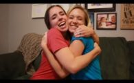 Sisters Surprise Each Other with Baby News