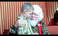 Santa Brings A Little Christmas Magic To A Boy With Autism
